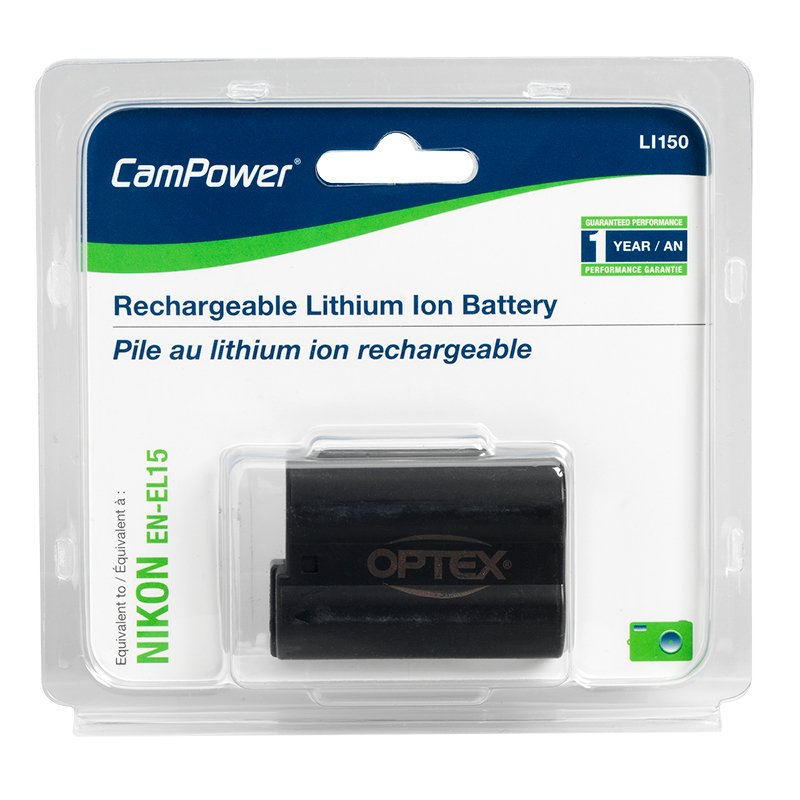 Optex Lithion Battery Nikon - LI150