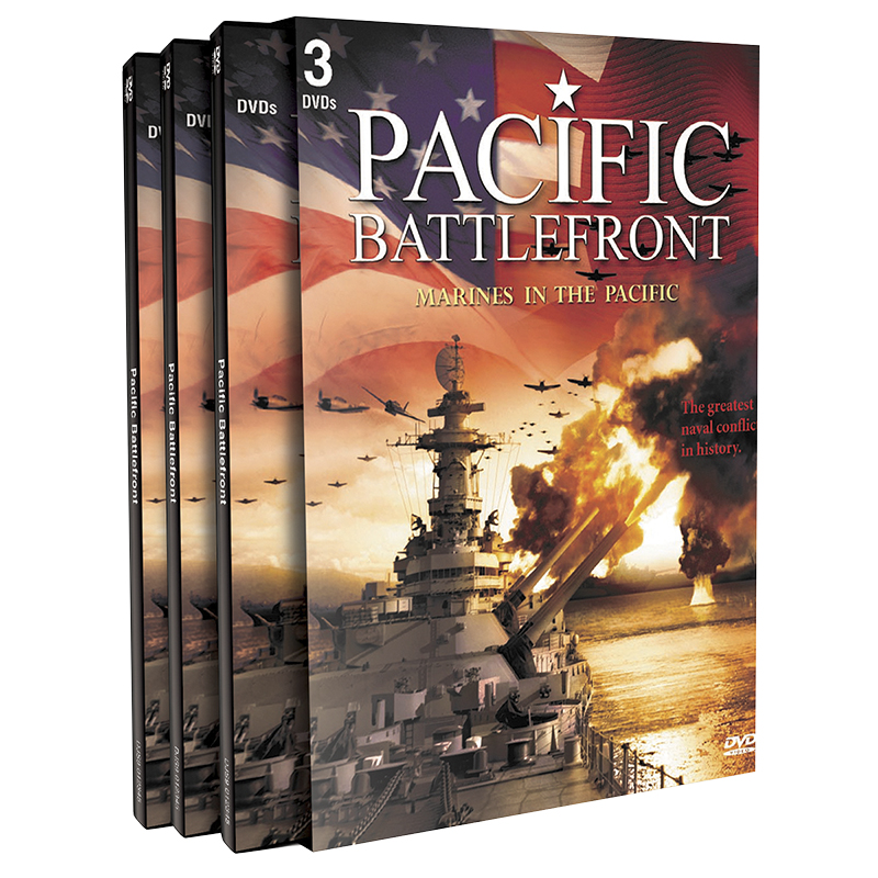 Pacific Battlefront: Marines In The Pacific - 3 DVD