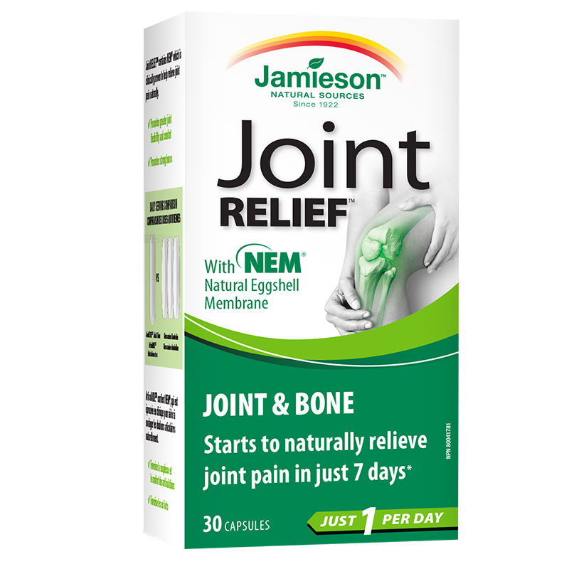 Jamieson Joint Relief with NEM - Joint & Bone - 30's