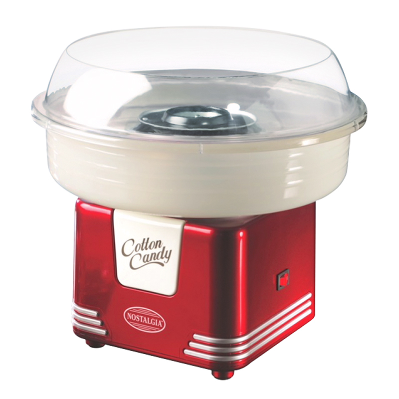 Nostalgia Cotton Candy Maker - Red - PCM405RETRO