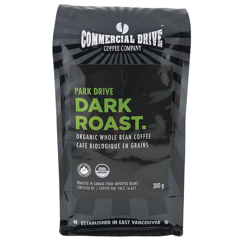 Commercial Drive Coffee - Park Drive Dark Roast - 300g