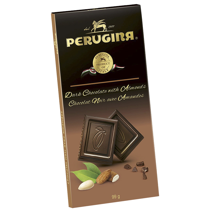 Perugina Baci Dark Chocolates - Almonds - 99.2g