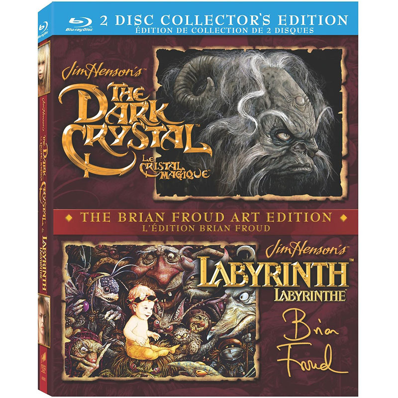 The Dark Crystal / Labyrinth - Blu-ray