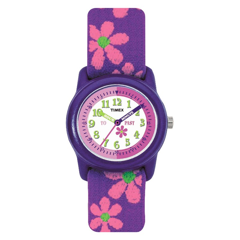 Timex Youth Girls Analogue Watch - Purple - T89022XY
