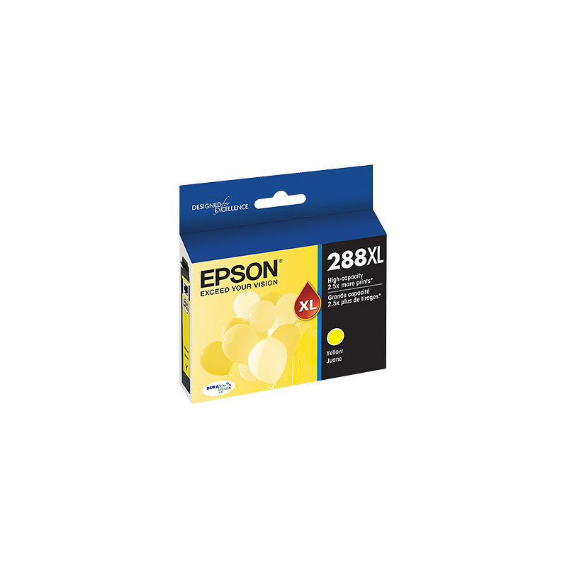 Epson 288XL High Capacity Dura Bright Ink - Yellow - T288XL420-S