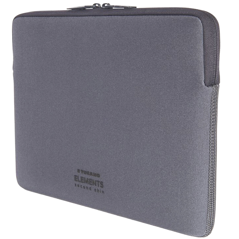 Tucano Elements Second Skin Sleeve for MacBook 12inch - Gray - BF-E-MB12-S