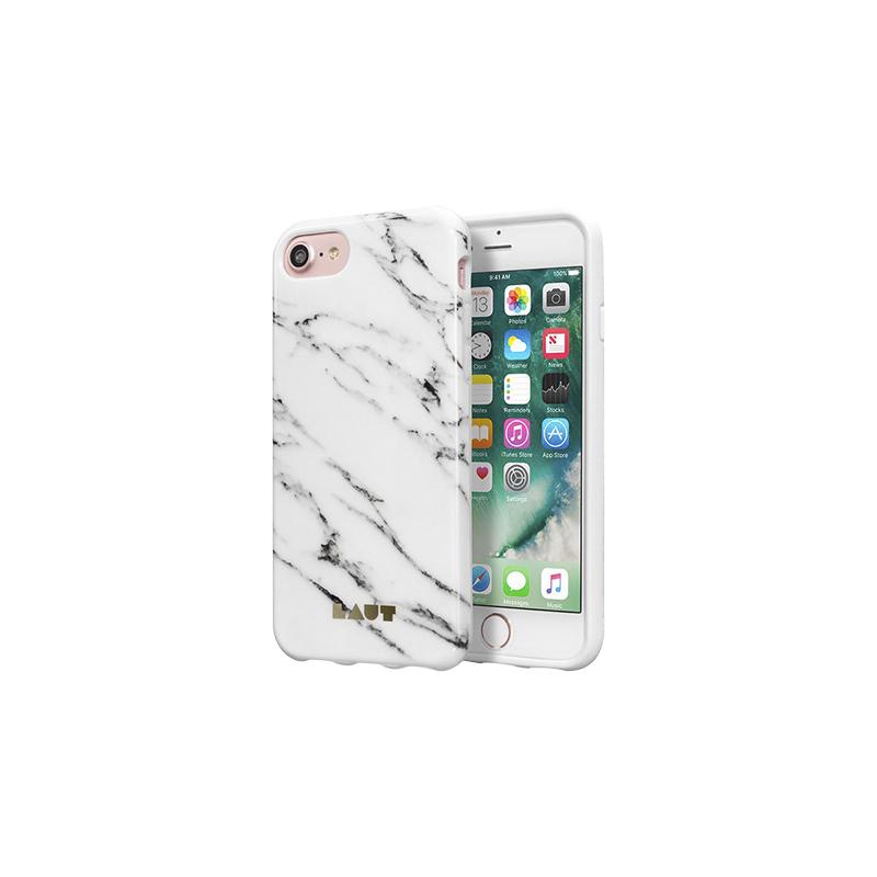 buy popular 7e31b 18a88 Laut Huex Elements iPhone 7 Case - Marble White - LAUTIP7HXEMW