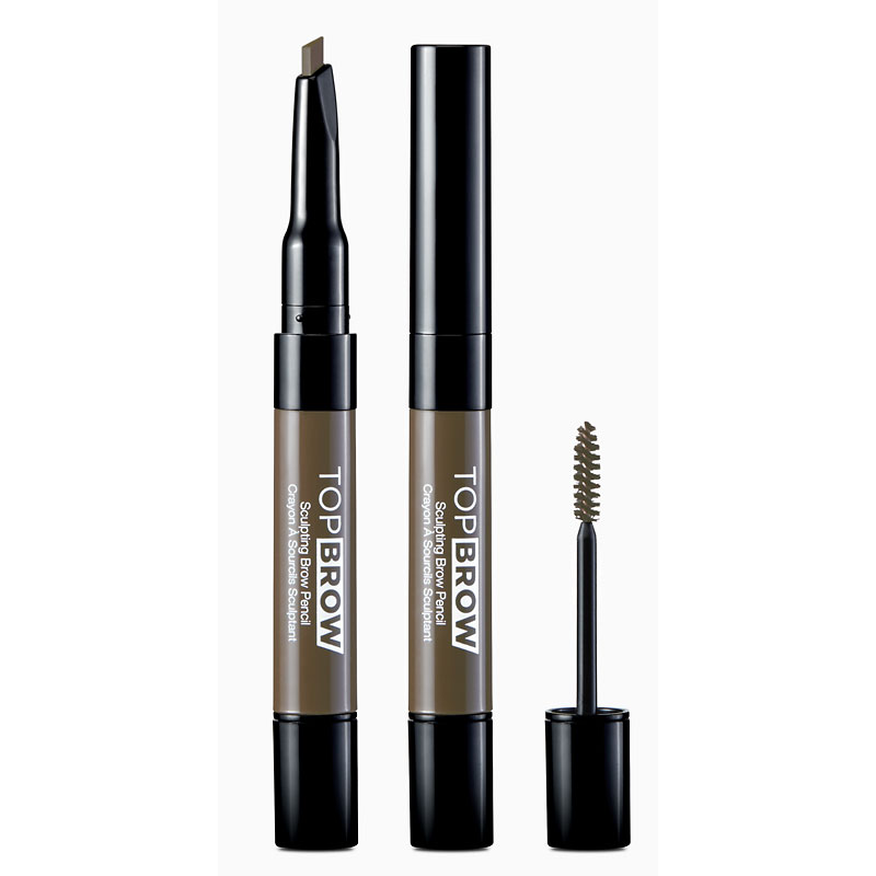 KISS NY Professional Top Brow Sculpting Pencil - Taupe