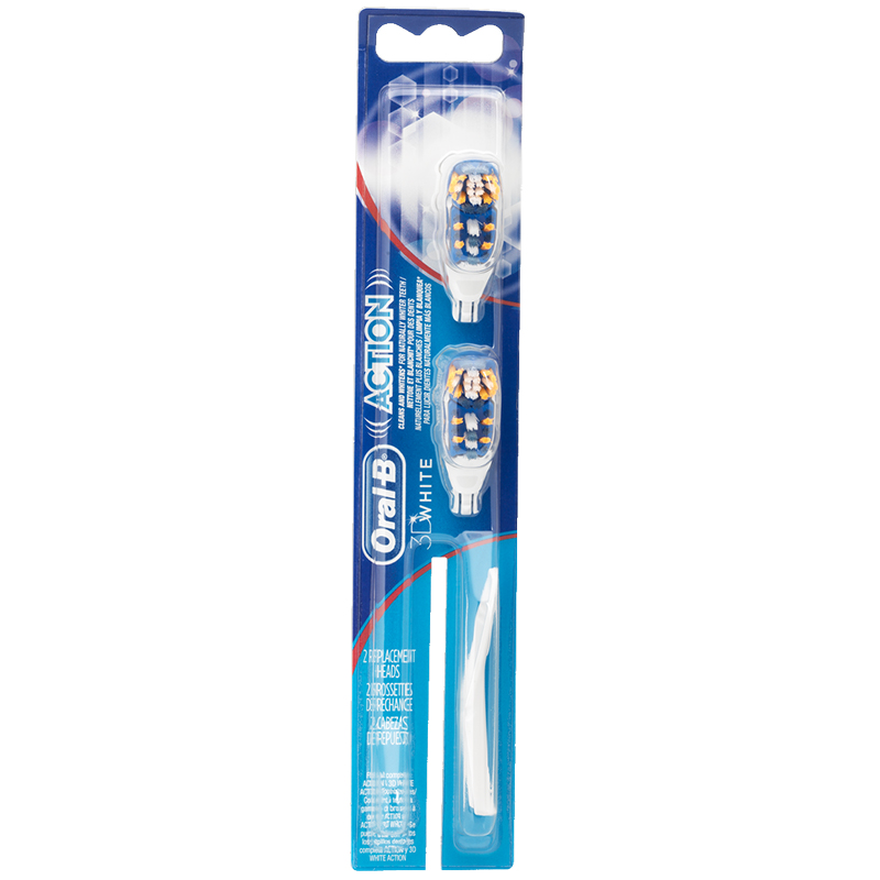 Oral-B CrossAction Power Whitening Brushheads - 83731