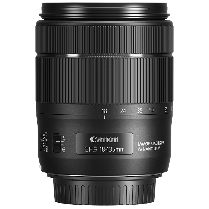 Canon EF-S 18-135mm F3.5-5.6 IS USM Lens - 1276C002