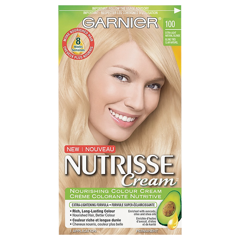 Garnier Nutrisse Cream Permanent Hair Colour 100 Extra Light