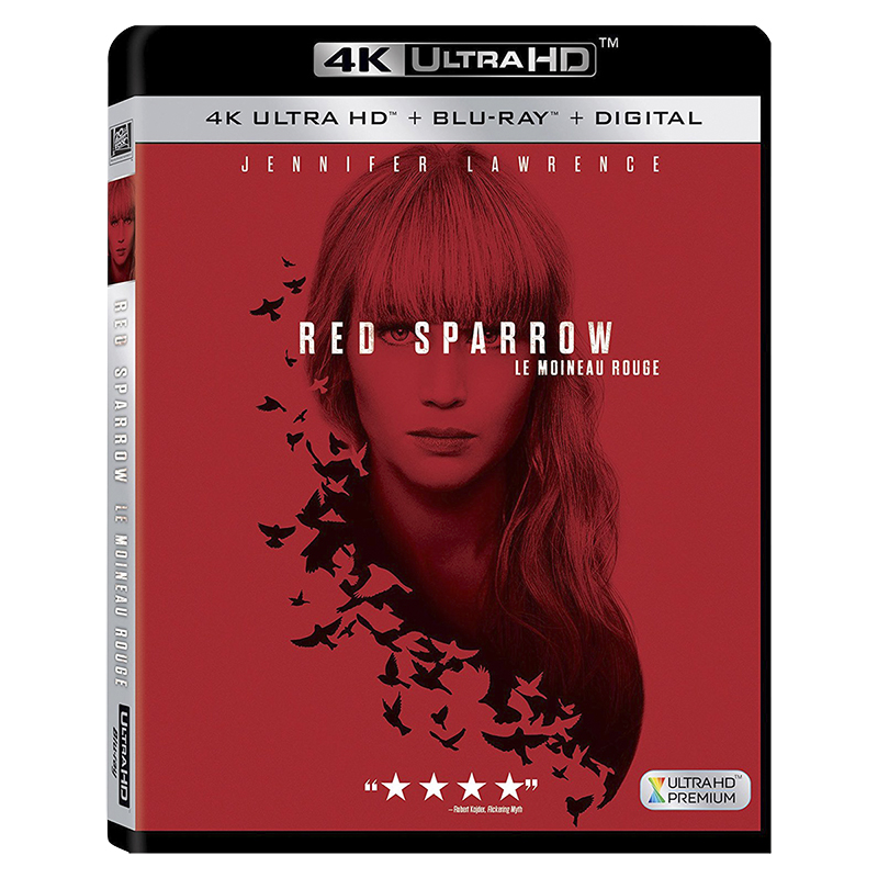 Red Sparrow - 4K UHD Blu-ray
