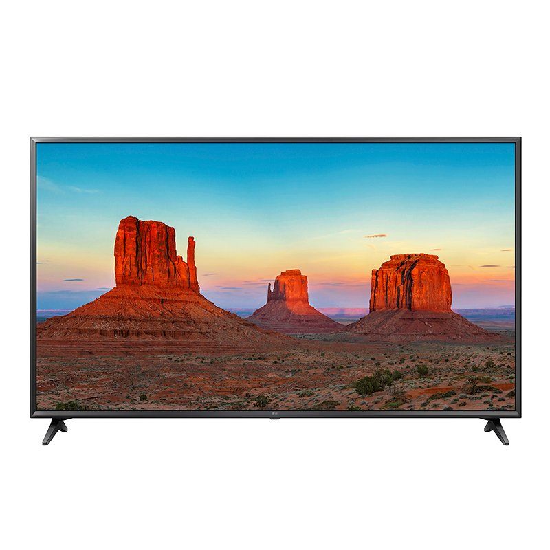 LG 65-in 4K UHD True Motion 120 Smart TV with webOS 4.0 - 65UK6300 - Open Box Display Model