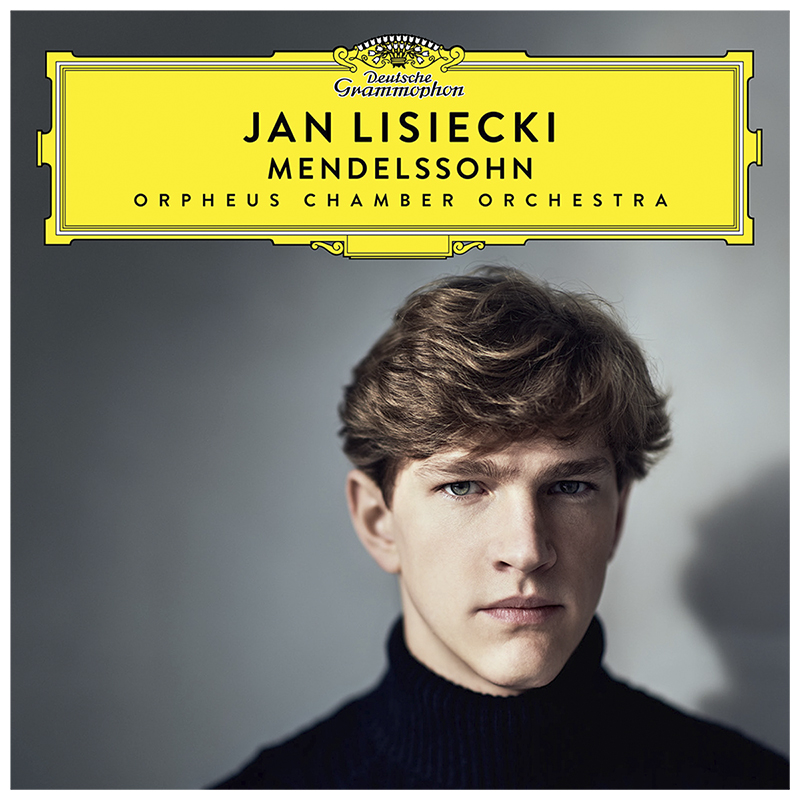 Jan Lisiecki and The Orpheus Chamber Orchestra - Mendelssohn - CD