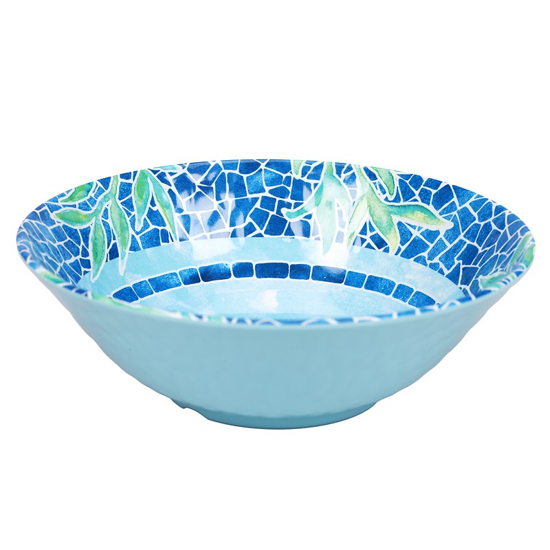 London Drugs Melamine Shallow Bowl - Sea Life - 7.5in