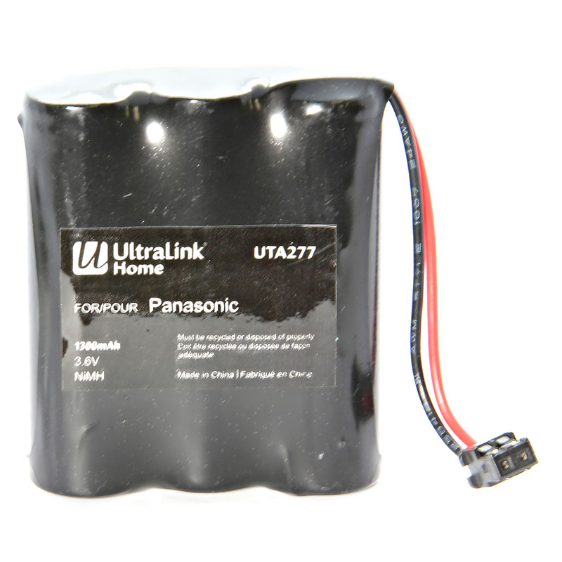 UltraLink Cordless Phone Battery for Panasonic and GE - UTA277