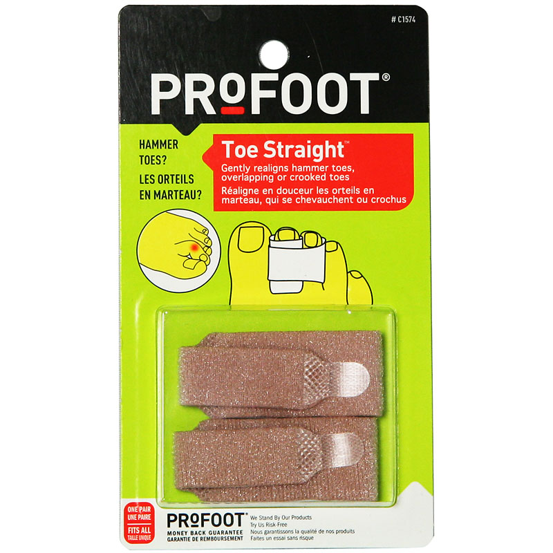 ProFoot Toe Straight - 2's