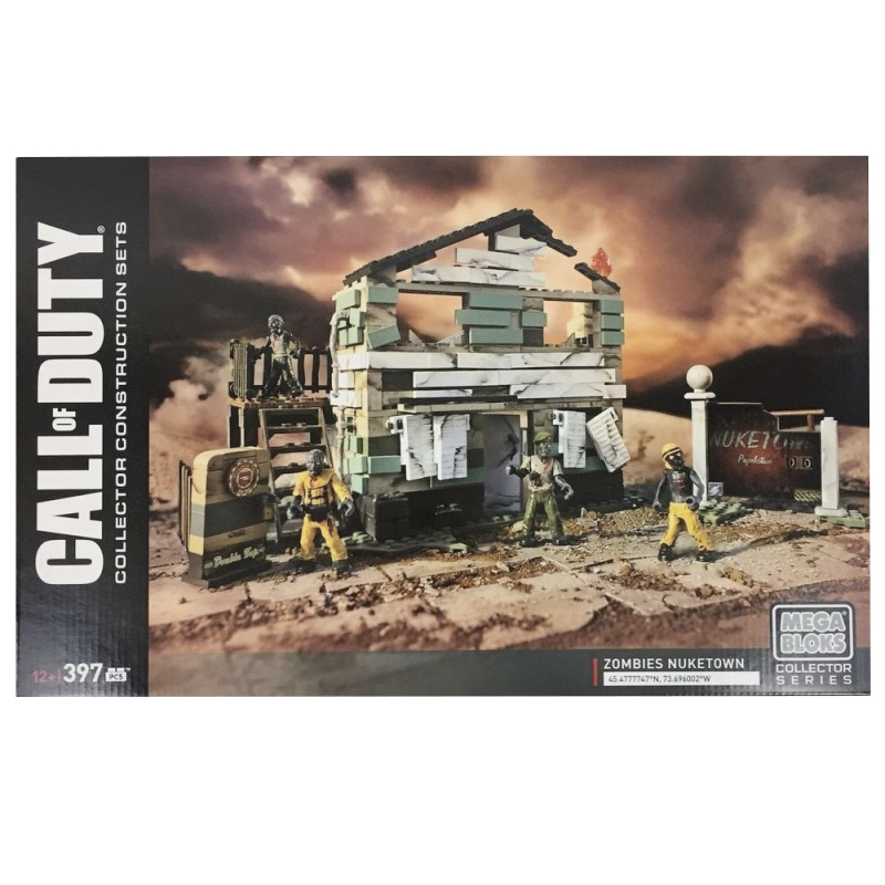 Mega Bloks Call of Duty - Zombies Nuketown