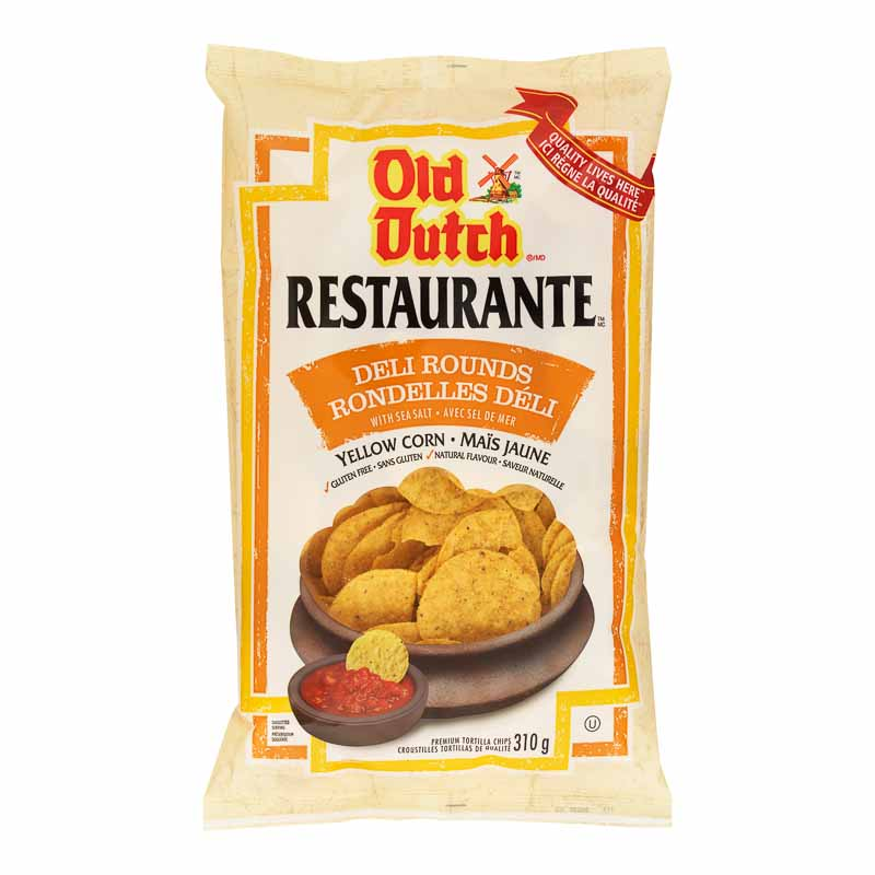 Old Dutch Restaurante - Deli Rounds - 310g