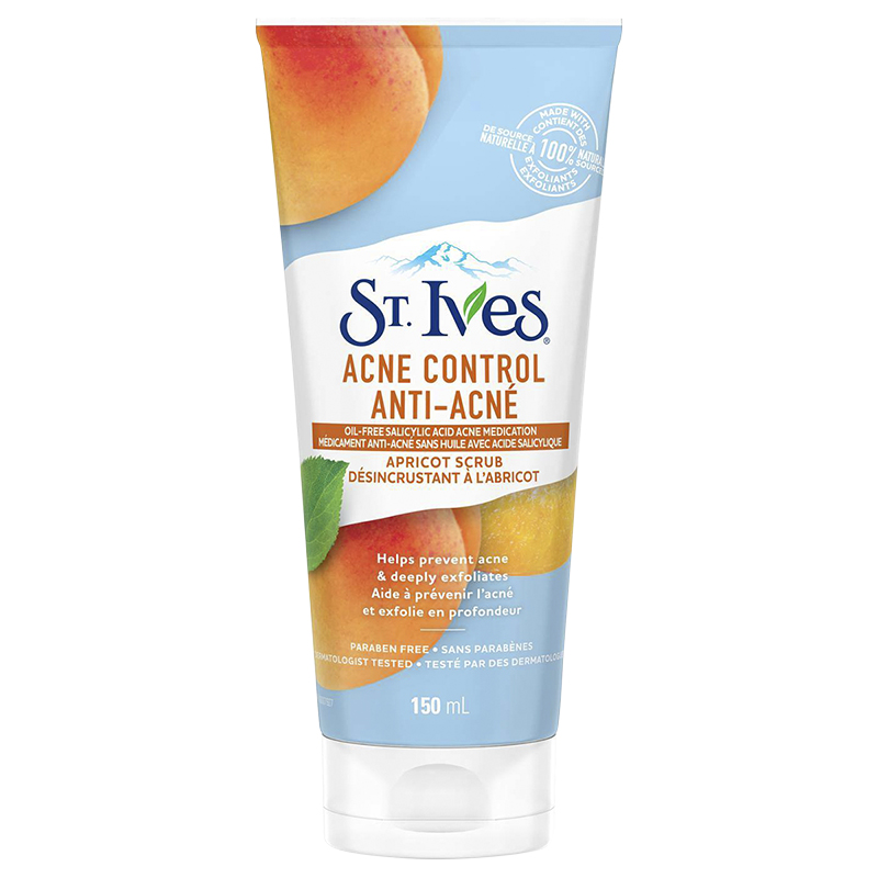 St. Ives Acne Control Apricot Facial Scrub - 150ml