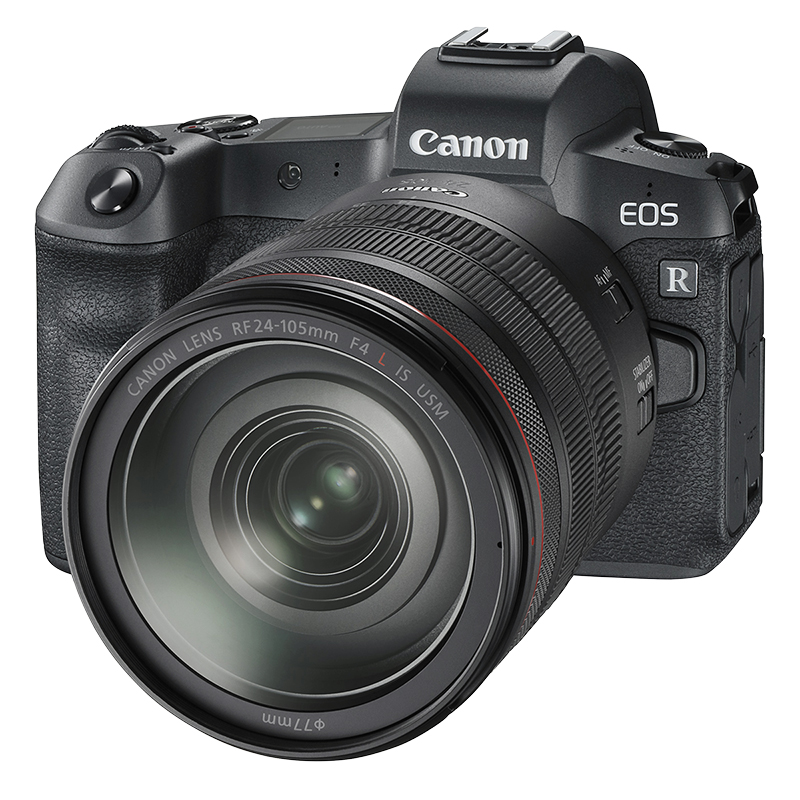 Canon EOS R with RF 24-105mm F4 L IS USM Lens - 3075C012