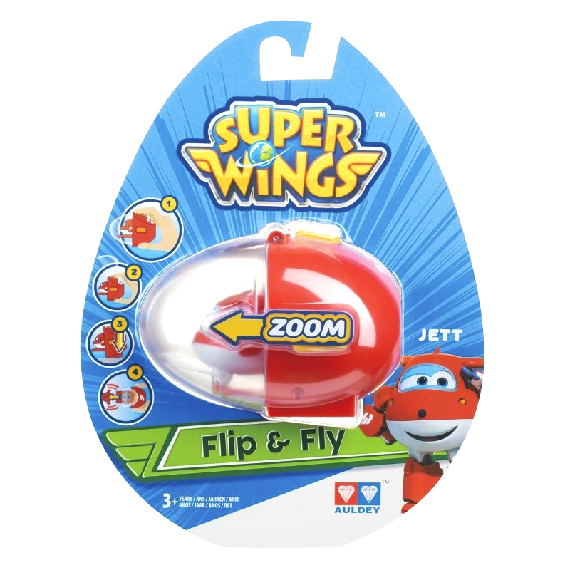 Flip and Fly Play Figures - Assorted
