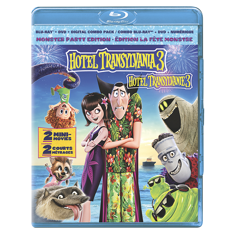 Hotel Transylvania 3: Summer Vacation - Blu-ray