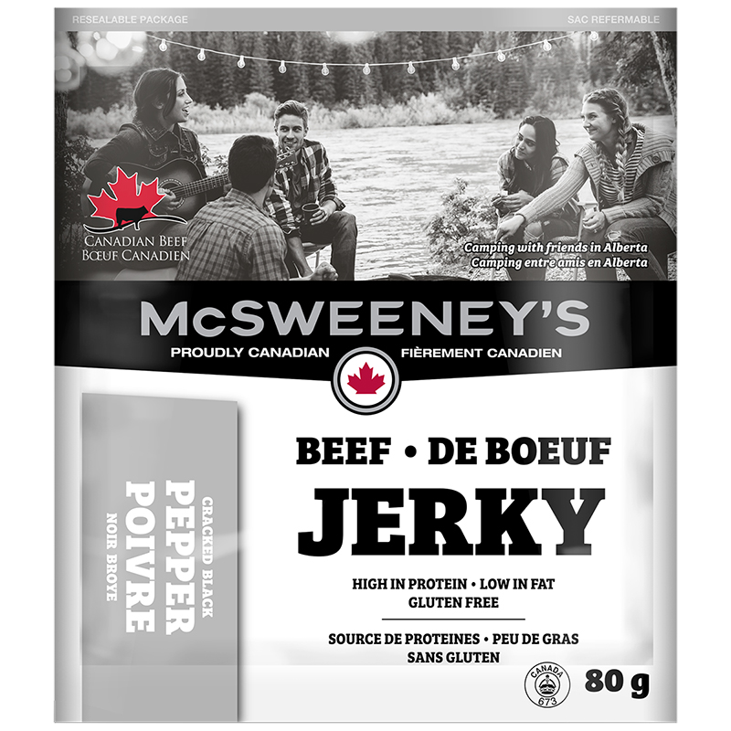 McSweeney's Beef Jerky - Cracked Black Pepper - 80g
