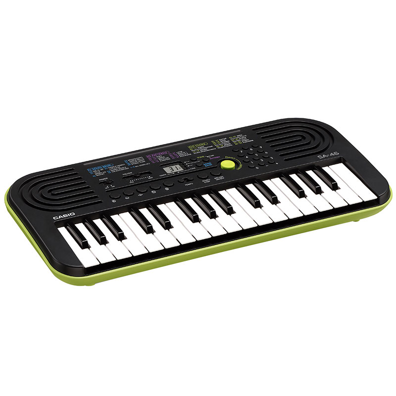 Casio 32-Key Mini Keyboard - Black - SA46