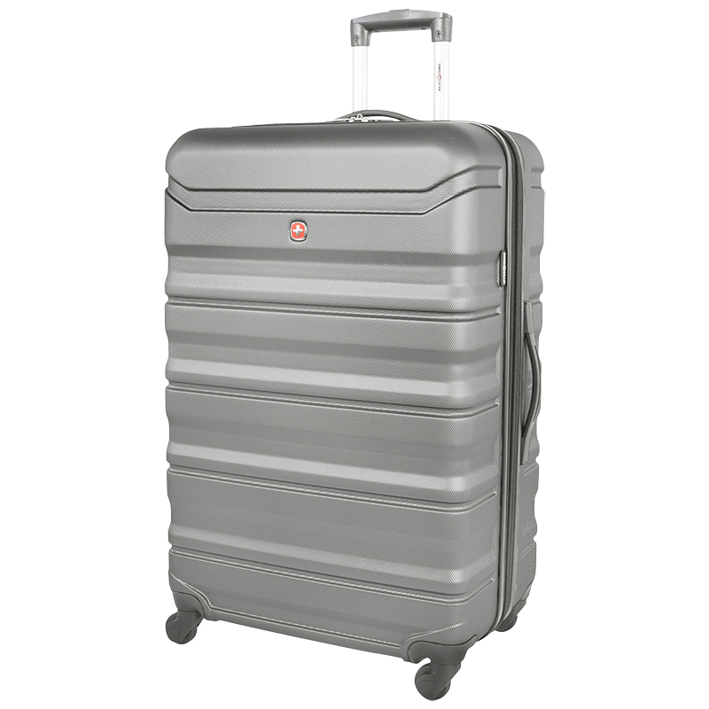 "Swissgear Chic Lite Expandable Spinner Luggage - 28"" - Grey"
