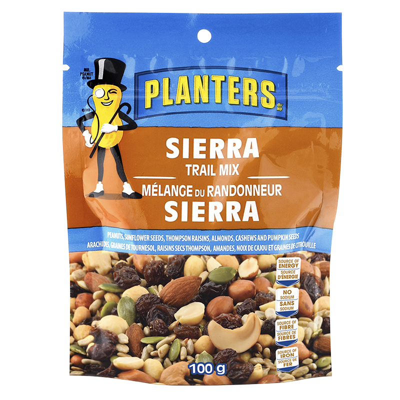 Planters Trail Mix - Sierra - 100g
