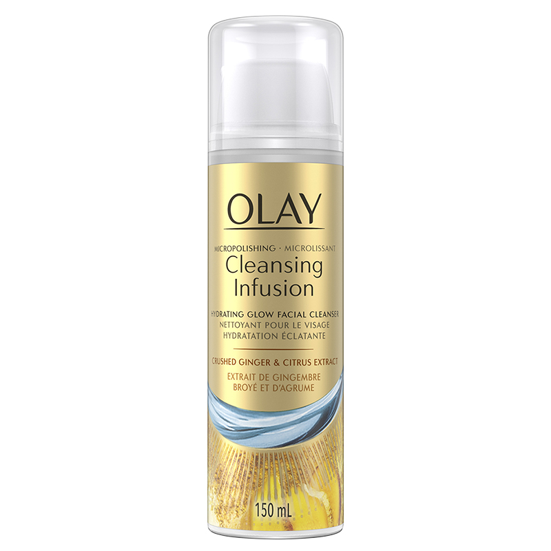 Olay Cleansing Infusion Facial Cleanser - Crushed Ginger & Citrus Extract - 150ml