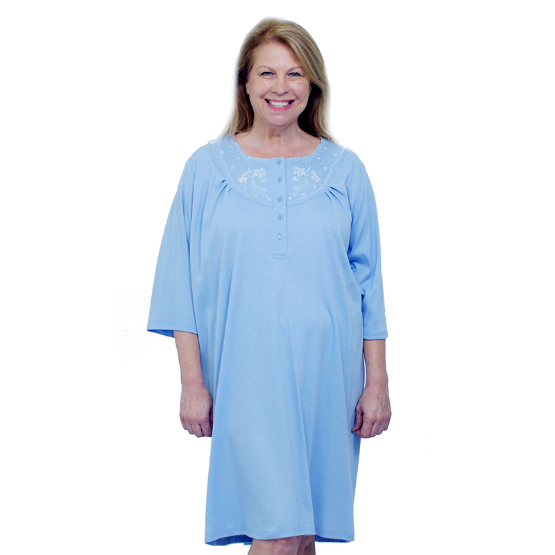 Silvert's Women's Open-Back Nightgown - 2XL - 3XL