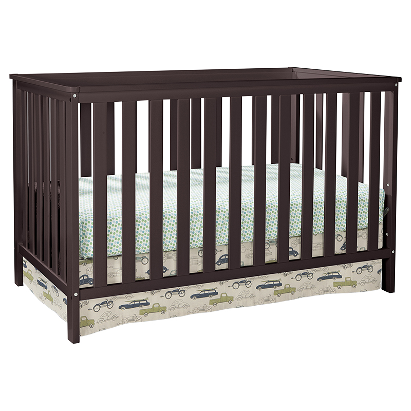 Storkcraft Rosland 3-in-1 Convertible Crib - Espresso - 04510-239