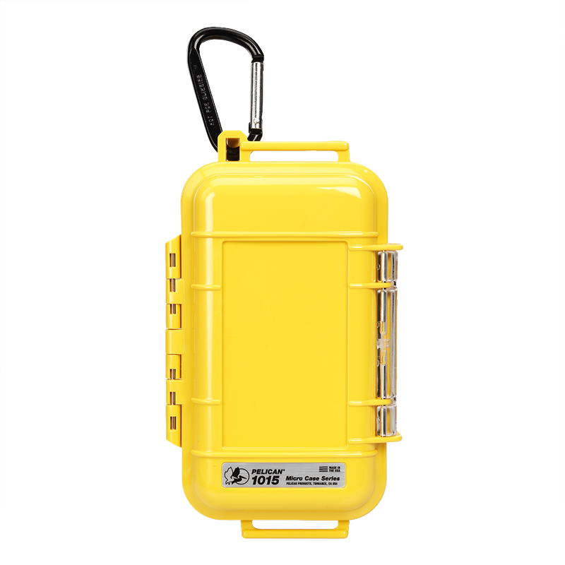 Pelican 1015 Micro Case - Solid Yellow