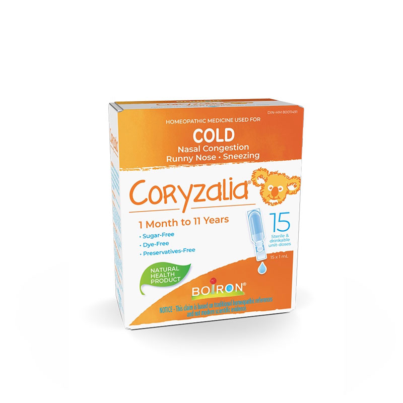 Boiron Coryzalia Cold for Kids - 15 x 1ml