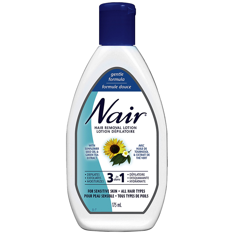 Nair Hair Removal 3 In 1 Lotion Gentle 175ml London Drugs