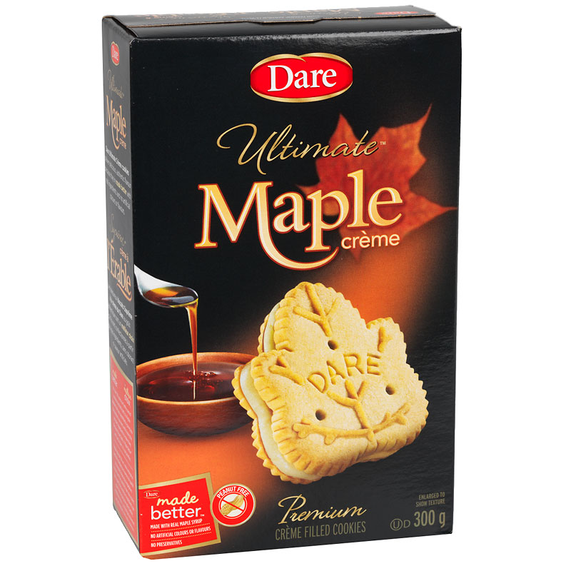 Dare Ultimate Maple Crème Cookies - 300g