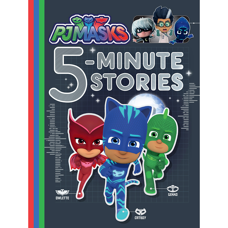 PJ Masks 5-Minute Stories
