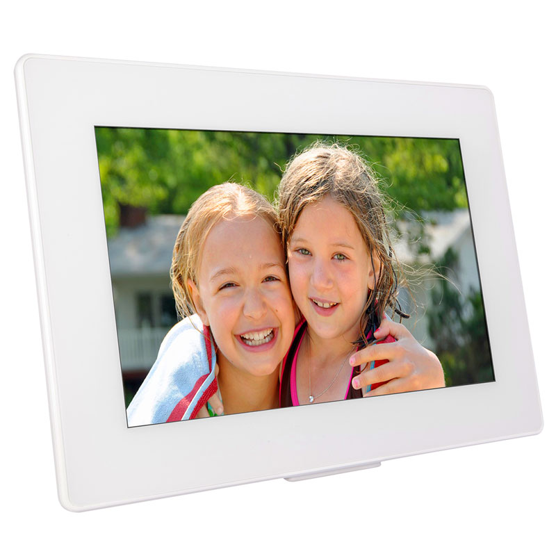 Photospring 101 Inch Digital Picture Frame White Ps101 16