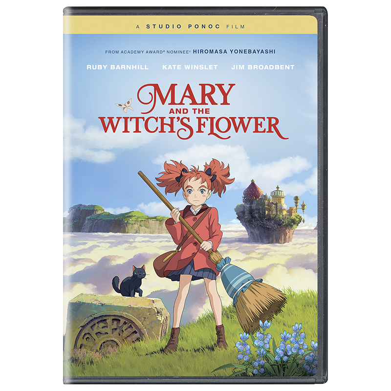 Mary and the Witch's Flower - DVD