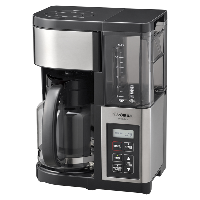 Zojirushi 12 Cup Coffee Maker - Black - EC-YGC120