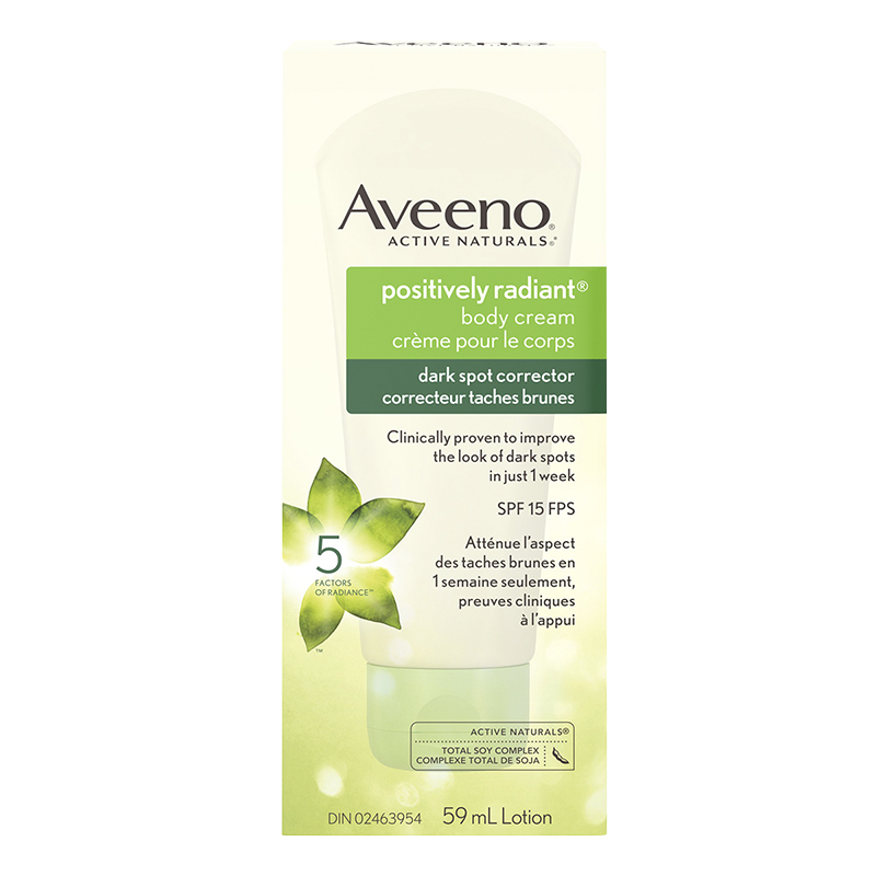 Aveeno Active Naturals Positively Radiant Dark Spot Corrector Body Lotion - SPF 15 - 59ml