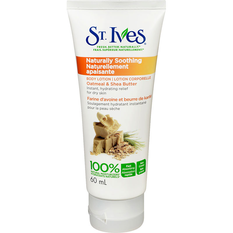 St. Ives Naturally Soothing Oatmeal & Shea Butter Body Lotion - 60ml