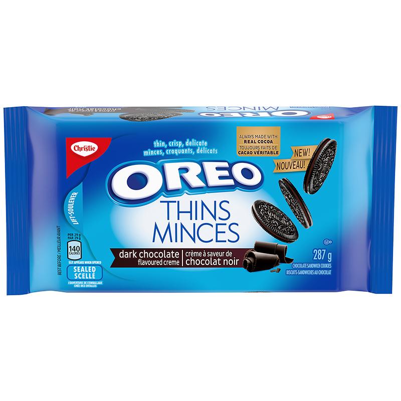 Christie Oreo Thins - Dark Chocolate - 287g | London Drugs