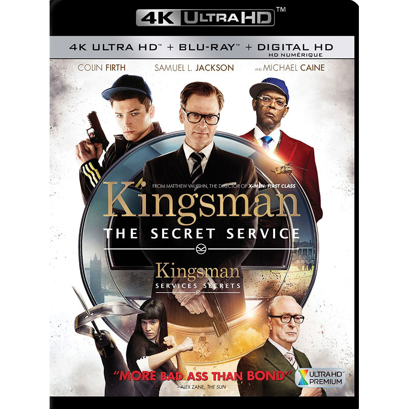 Kingsman: The Secret Service - 4K UHD Blu-ray