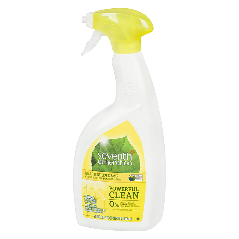 Seventh Generation Tub & Tile Natural Cleaner - Emerald Cypress & Fir - 946ml