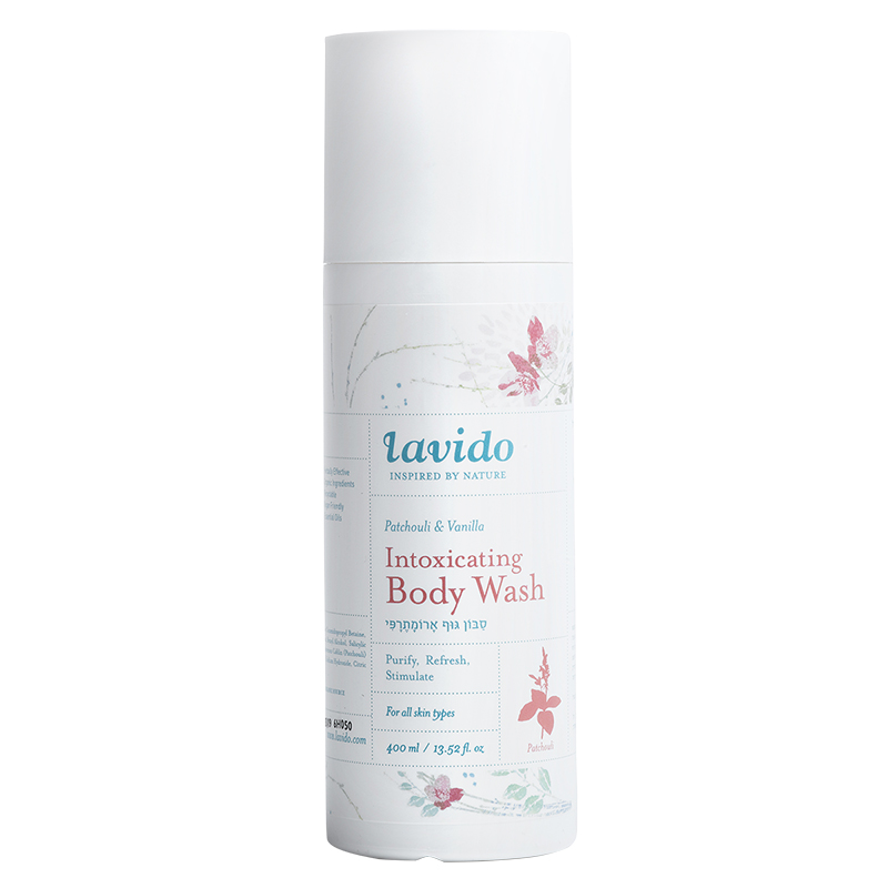 Lavido Intoxicating Body Wash - Patchouli & Vanilla - 400ml
