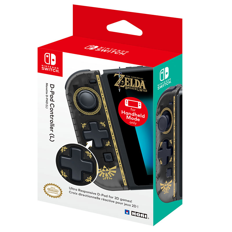 Hori Nintendo Switch D-Pad Controller (Left) - Legend of Zelda