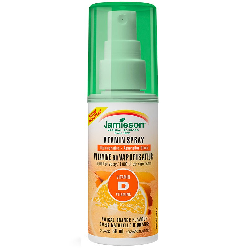 Jamieson Vitamin Spray Vitamin D - Orange - 58ml
